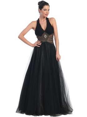 Tulle Long Prom Dress