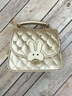 Vegan Leather Quilted Bunny Purse