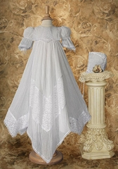 Victorian Lace Heirloom Christening Gown