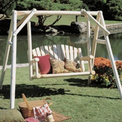 5' American Garden Swing and Frame
