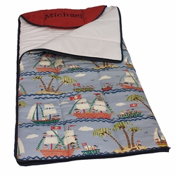 Ahoy Kid's Personalized Sleeping Bag