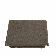 Boucle Throw in Taupe