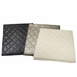 Faux Leather Throw