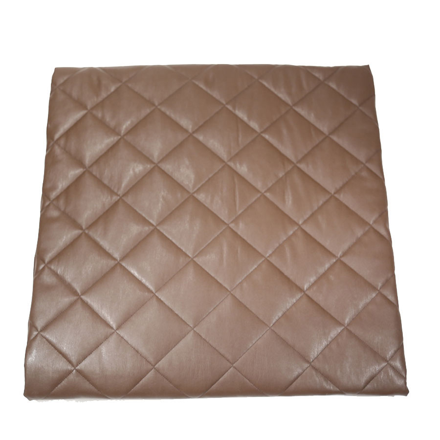 faux leather throw by ann gish  quilted