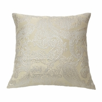 Arabesque Pillow in Platinum