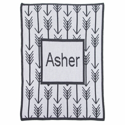 Arrows and Name Blanket