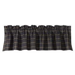 Ashbury Windowpane Valance