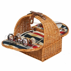 Athertyn Picnic Basket For 2