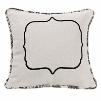 Augusta Matelasse Accent Pillow