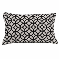 Augusta Oblong Cutted Velvet Accent Pillow