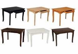 Avalon Table- Vanilla, Black or Espresso