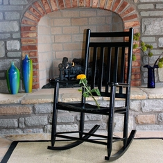 Avenue Slat Back Rocking Chair