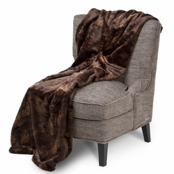 Bailey Faux Fur Throw