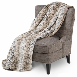 Bedrock Faux Fur Throw