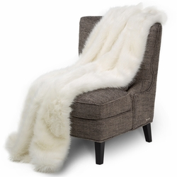 Bethany Faux Fur Throw