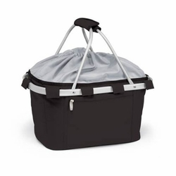 Black Insulated Market Basket