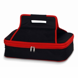 Black-Red Entertainer Insulated Food and Casserole Carrier