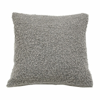 Boucle Pillow in Light Grey