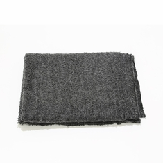 Boucle Throw in Charcoal
