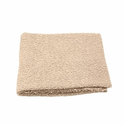 Boucle Throw in Oyster