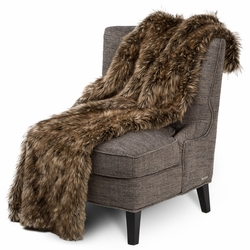 Braeburn Faux Fur Throw