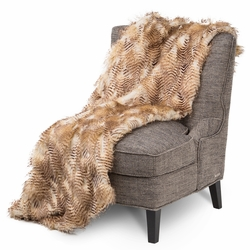 Breckenridge Faux Fur Throw