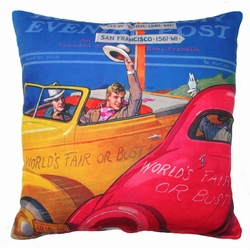 Cars Outdoor Pillow