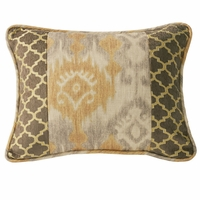 Casablanca Ikat and Ogee Pillow
