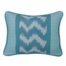 Catalina Chevron And Stripes Pillow