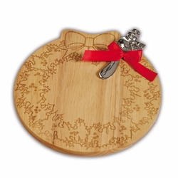 Christmas Wreath Cheese Board