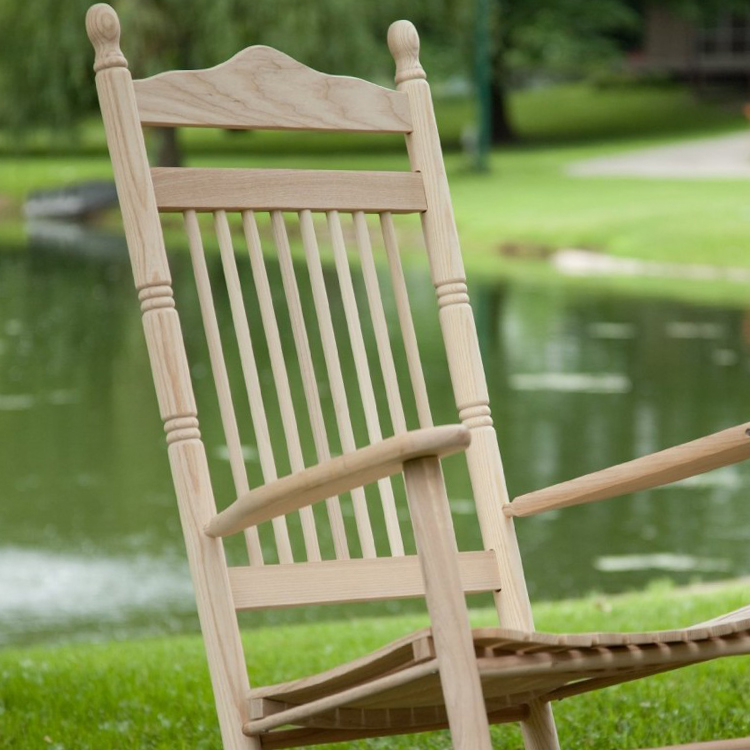Spindle Back Rocking Chairs Red Black White Green Oak