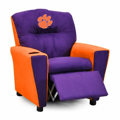 Clemson Tigers Kidu0027s Recliner Clemson University  sc 1 st  Anderson Avenue : child recliner chairs - islam-shia.org