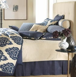 Colefax Custom Luxury Bedding by Mystic Valley Traders