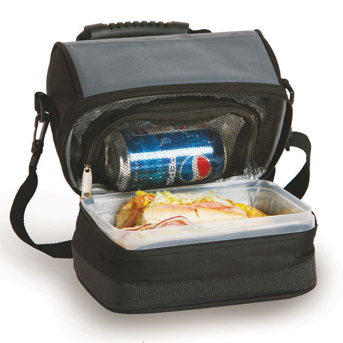 columbus lunch tote  insulated lunch box  cooler tote for men