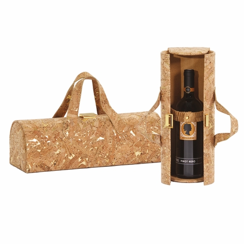 Cork Carlotta Clutch Wine Bottle Tote