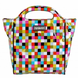 Cubes Insulated Lunch Tote by Hadaki