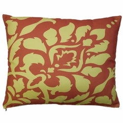 Damask Outdoor Pillow