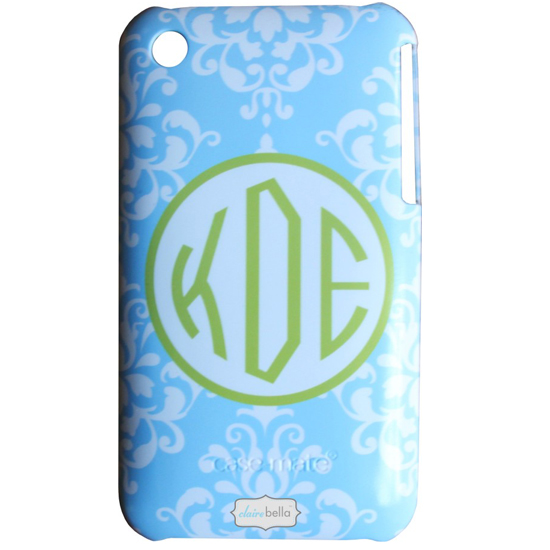 personalized phone cases by clairebella  damask  monogrammed phone case