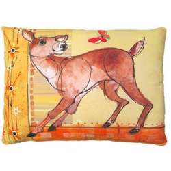 Deer Outdoor Pillow