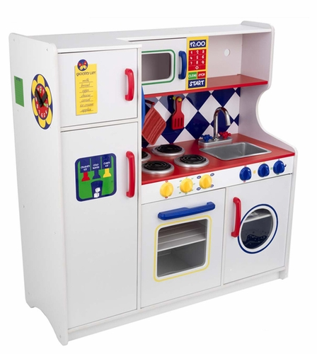 Deluxe Let\'s Cook Play Kitchen