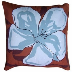 Desert Blue Patio Pillow