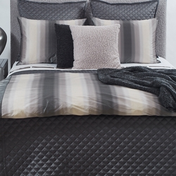 Double Diamond Coverlet Set in Charcoal