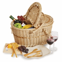 Eco Creston Picnic Basket For 2