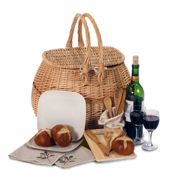 Eco Picnic Basket For 2