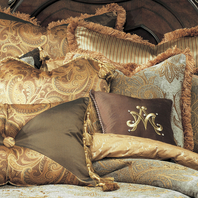 elizabeth luxury bedding by michael amini bedding collection from aico