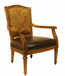 Emma Gold Accent Chair