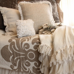 Enchantique Ivory And Sable Duvet