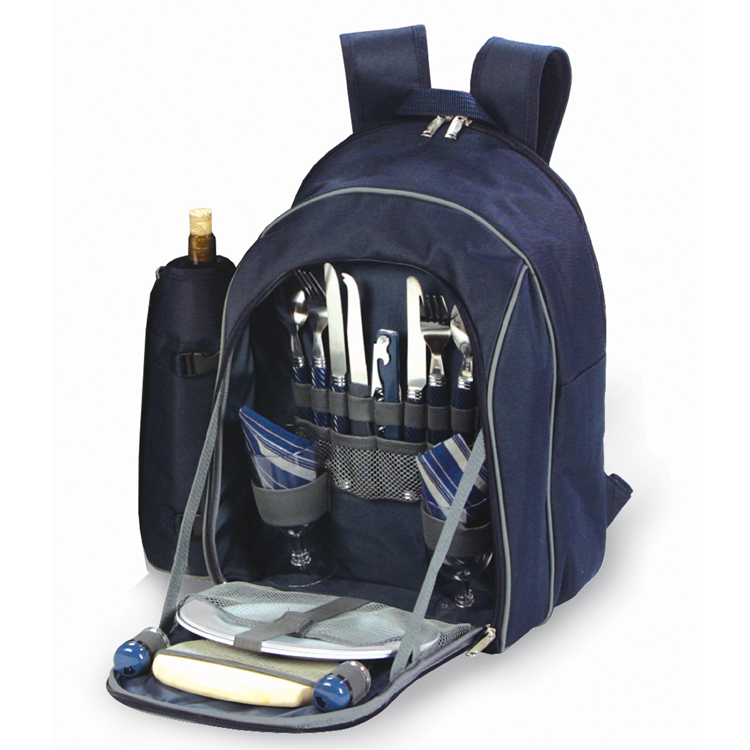 endeavor 2 person picnic backpack set from picnic plus