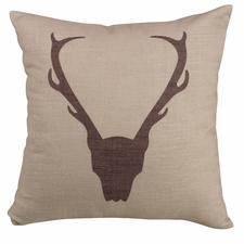 Fairfield Antler Pillow