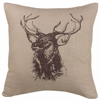 Fairfield Elk Accent Pillow